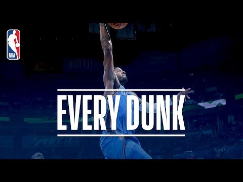 Paul George, Blake Griffin and EVERY Dunk From Thursday