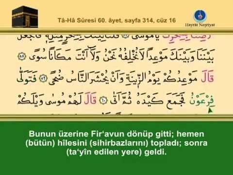 Fatih Çollak - 314.Sayfa - Tâhâ Suresi (52-64)