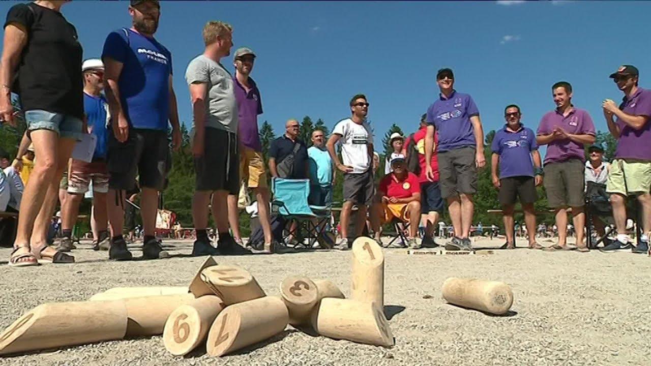 19è championnat du monde de Mölkky à Samoëns en Haute-Savoie