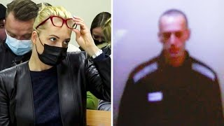 video: Alexei Navalny looks gaunt as he appears in court after hunger strike as Russia announces new criminal charges