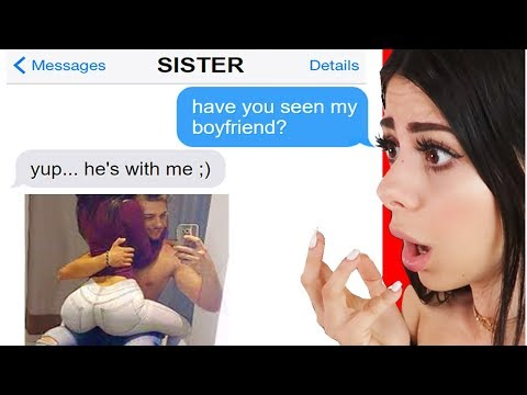 The Most Horrible Sisters Ever ! Texts