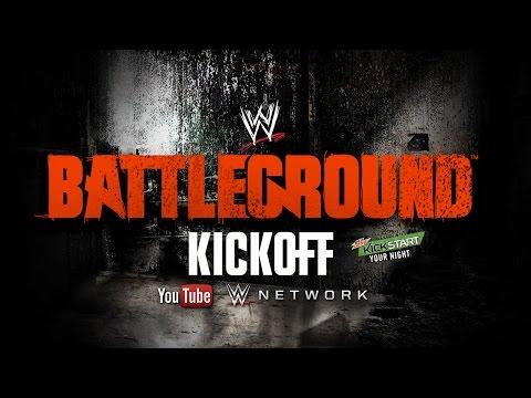 WWE Battleground 2014 Kickoff