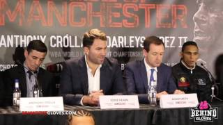 Crolla vs Perez II undercard presser HIGHLIGHTS