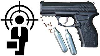 пневматический пистолет Crosman C11 видео обзор
