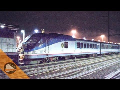 Amtrak Turboliner on the Northeast Corridor!