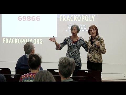 Wenonah  Hauter speaks on Frackopoly 10-17-16