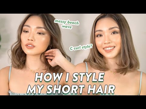 TUTORIAL NYATOK RAMBUT PENDEK ala salon !!! 3 Favorite Hair Style Tutorial - YouTube