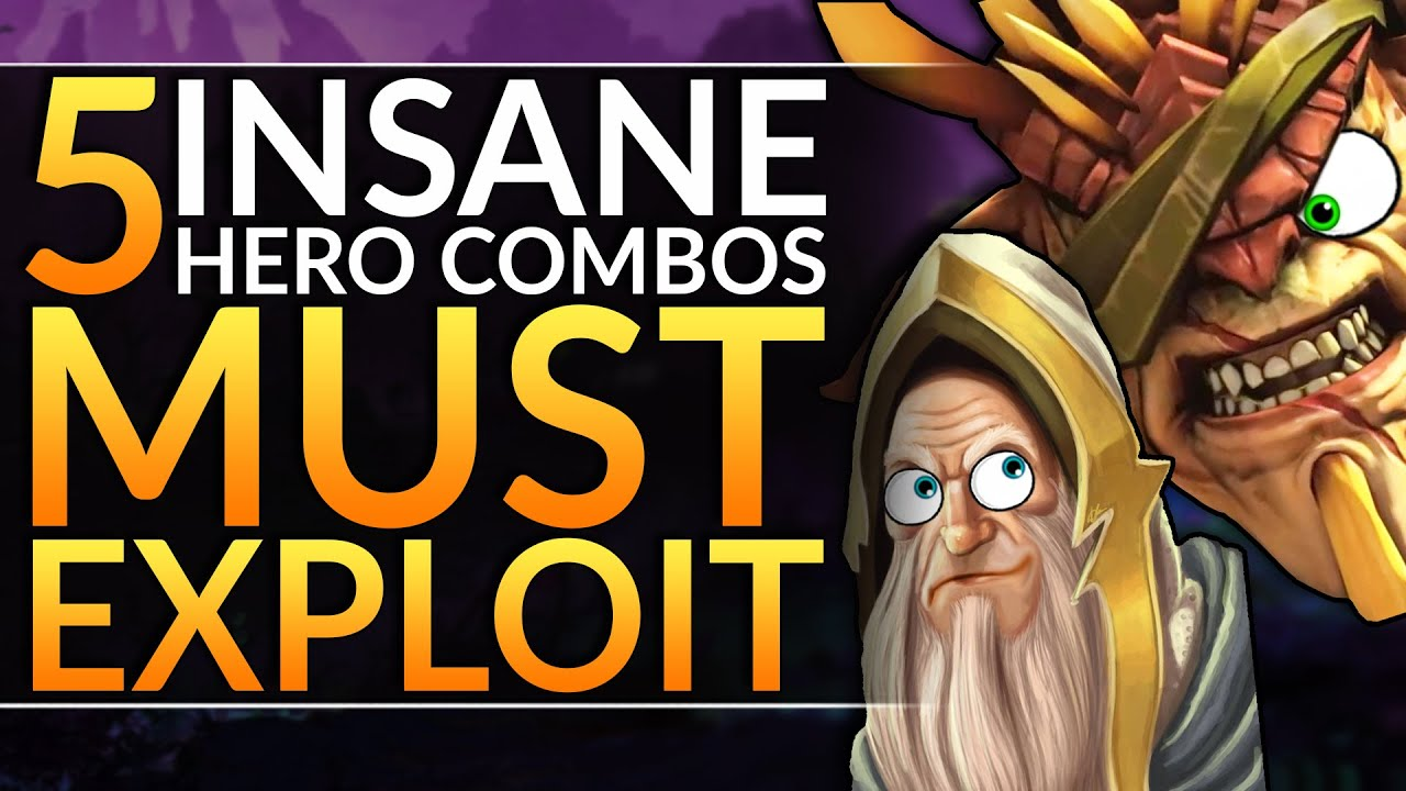 5 Strongest Hero Combos To Spam In Patch 7 25c Best Tips And Tricks Dota 2 Pro Guide Youtube