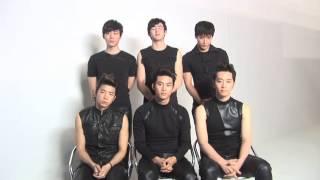 2PM 『GIVE ME LOVE メンバーコメント』