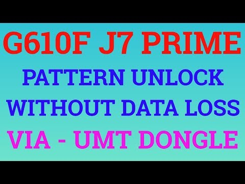 G610F PATTERN UNLOCK WITHOUT DATA LOSS|J7 PRIME UNLOCK WITHOUT DATA