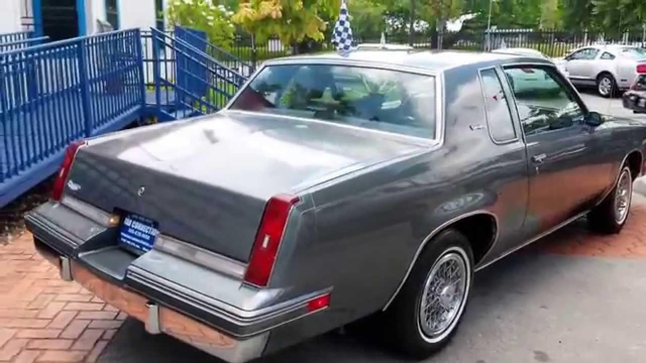 1987 Oldsmobile Cutlass Supreme V8 Karconnectioninc Miami Fl