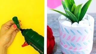 11 AMAZING DIY FLOWER POTS DECORATION IDEAS
