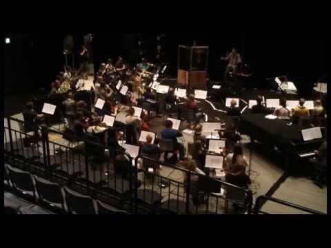 Metropolia-orkesterin äänitysvideo