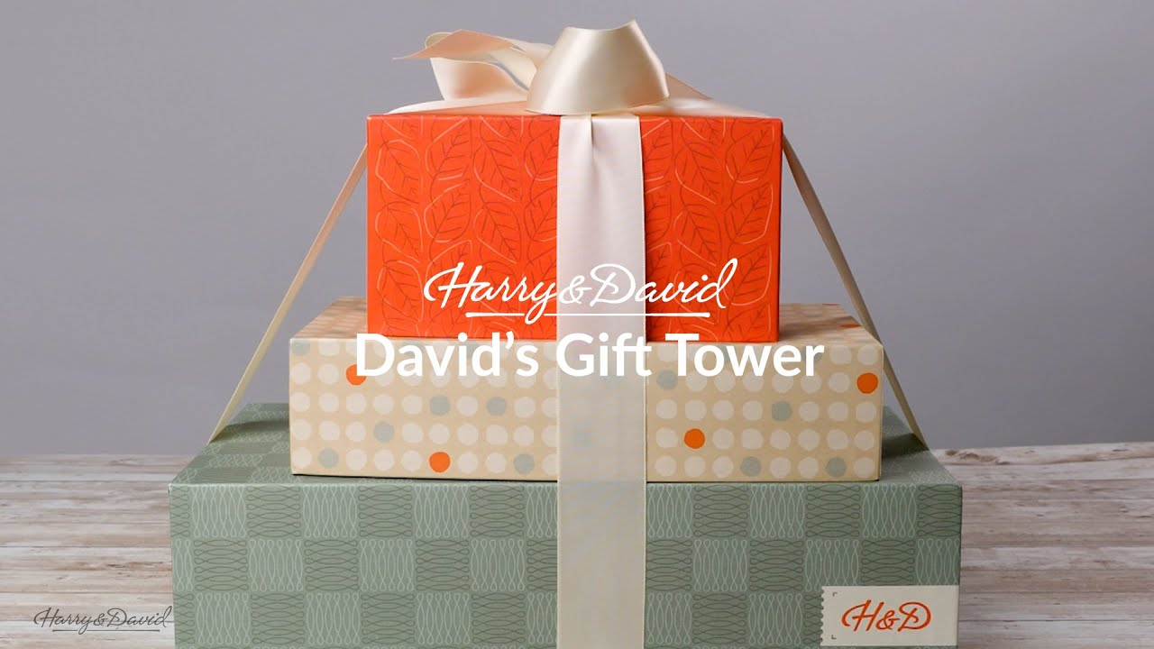 Harry and David - David's Gift Tower Unboxing Video