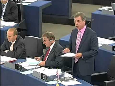 Nigel Farage flags Barroso over Lisbon treaty