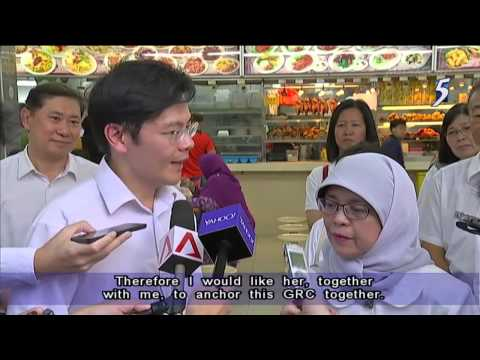 Halimah Yacob, Lawrence Wong To Co Lead PAP's Team For Marsiling Yew Tee GRC - 13Aug2015