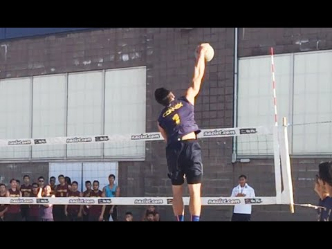 Connex A Hitting Lines - 2015 Finals 9 Man Volleyball