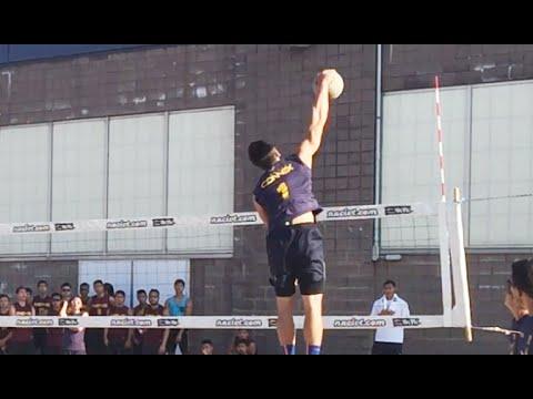 Connex A Hitting Lines - 2015 Finals 9 Man Volleyball