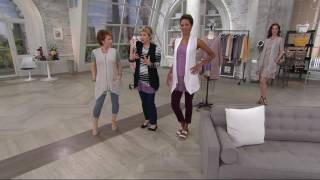 LOGO by Lori Goldstein Slub Knit Vest with Zip Front Closure on QVC(, 2017-03-04T21:57:35.000Z)