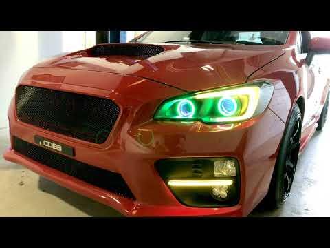 Profile Prism Subaru STi - C-lights, Strips, Halos, Demon Eyes, + Custom Quad Projector Conversion!