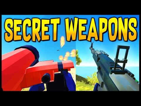 Ravenfield - ALL SECRET WEAPONS! HMG, Patriot, Hydra & Air Horn Locations - Ravenfield Gameplay