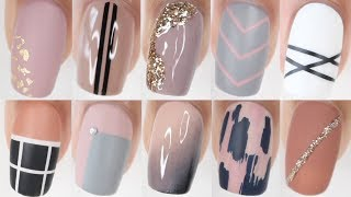 100 EASY nail ideas! | HUGE nail art compilation
