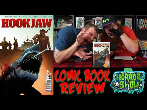 """""""Hookjaw"""" 2017 Horror Comic Book Review - The Horror Show"""