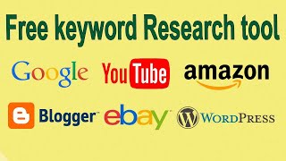 8 Best Free keyword research tool for youtube  blog  website  …