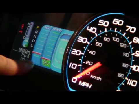 2010 Ford Fusion Hybrid Interactive Dashboard
