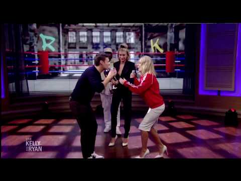 Hailey Baldwin becomes  the judge of a 'FIGHT' between Kelly and Ryan (HD)