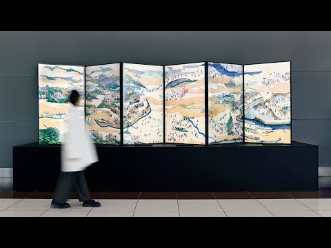 Sekigahara-Sansui-zu-Byobu (Folding Screen of Painted Sekigahara Landscapes) | CULTURE GATE to JAPAN