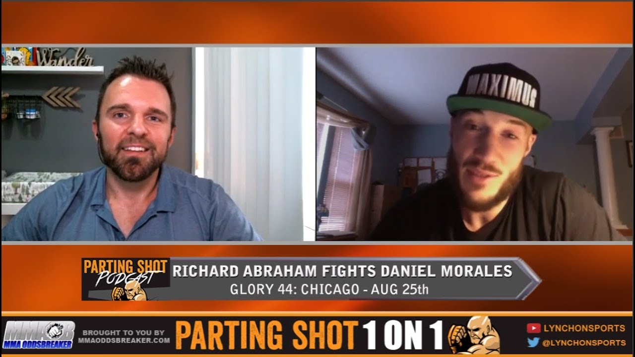 "GLORY 44's Richard Abraham ""It's going to get very scrappy, very fast with Daniel Morales"""