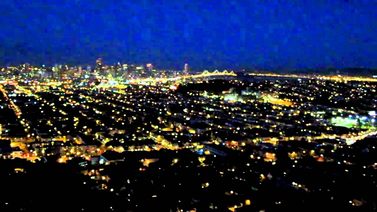 Bernal heights at night san francisco california youtube bernal heights at night san francisco california publicscrutiny Images