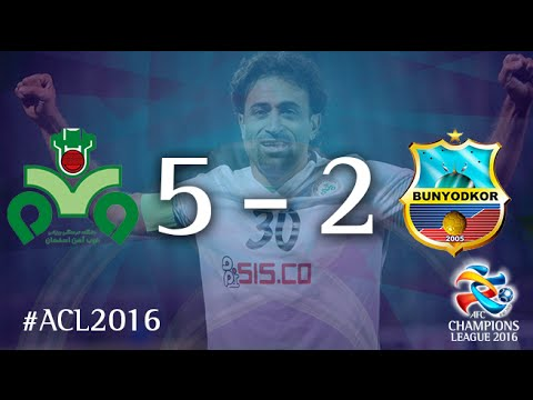 ZOBAHAN vs BUNYODKOR: AFC Champions League 2016 (Group Stage)