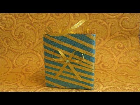 Как сделать подарочный пакет своими руками.Поделки своими руками.