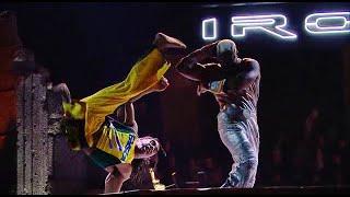 Ninjutsu vs Capoeira! Raven vs Eddy Gordo