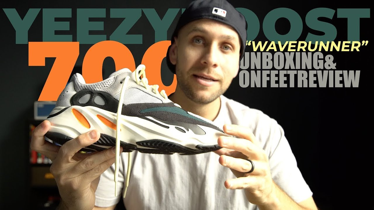 4b46516dff0 KANYES BEST YEEZY EVER  ADIDAS YEEZY BOOST 700 WAVERUNNER UNBOXING ...
