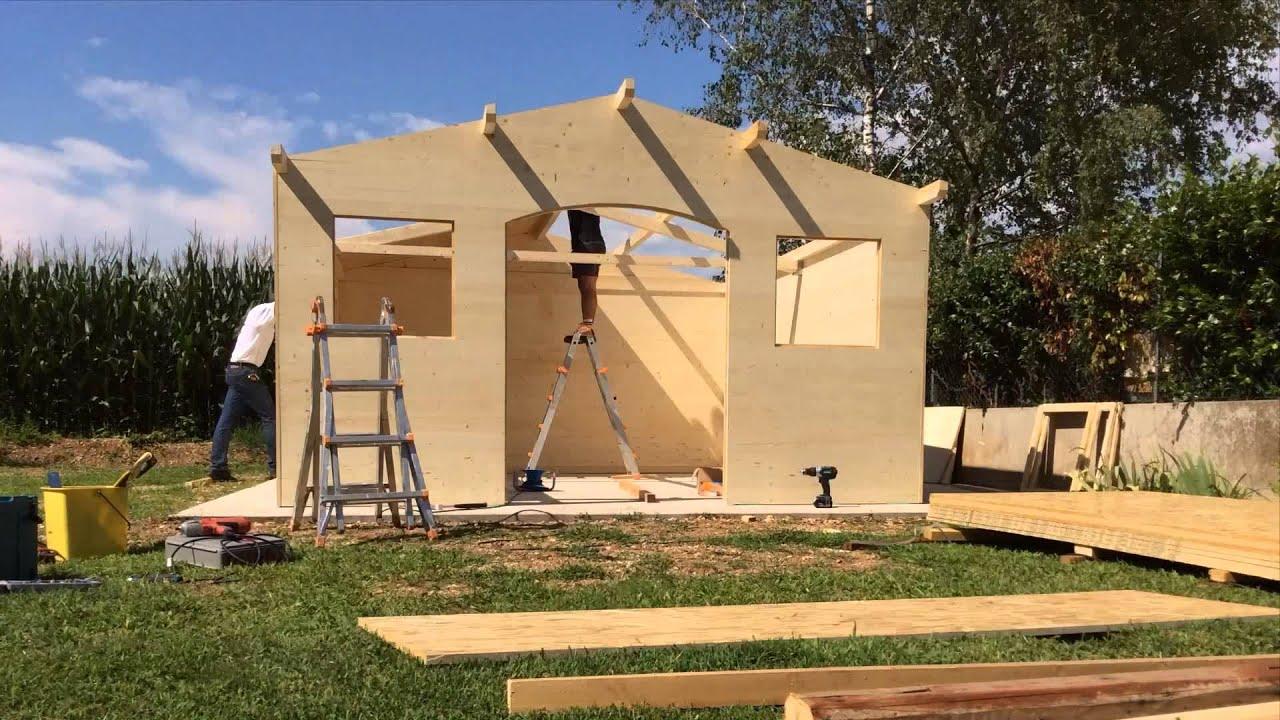 Come costruire una casetta in legno cossio legnami cossio attilio srl youtube - Costruire una casa costi ...