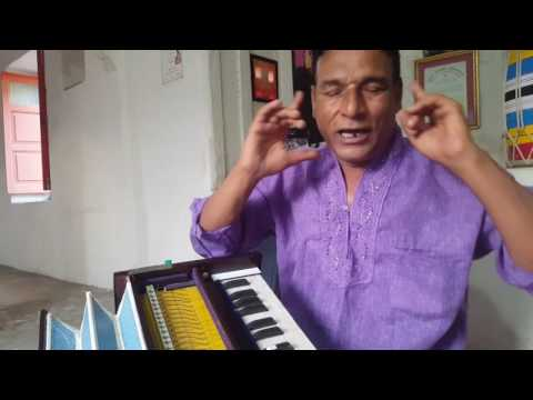 hindi lession 1 how to singing practice with harmonium bollywood  songs