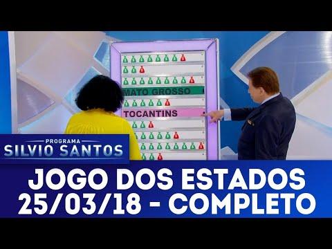 Jogo dos Estados - Completo | Programa Silvio Santos (25/03/18)