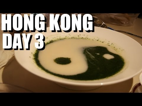Hong Kong Food Travel - Day 3 - Goose Noodles, Lasers, Fine Dining, and Sweets