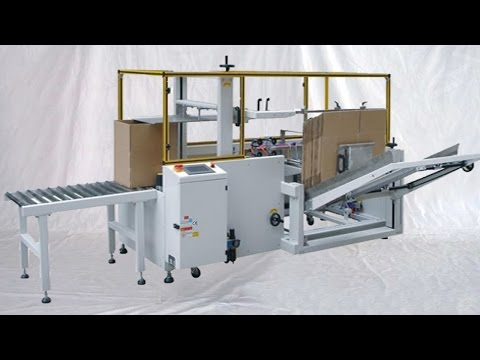 Fully Automatic Carton Erecting Equipment Boxes Erector Bottom Seal картонная эректор оборудование