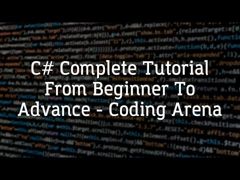c#-complete-tutorial-from-beginner-to-advance---coding-arena