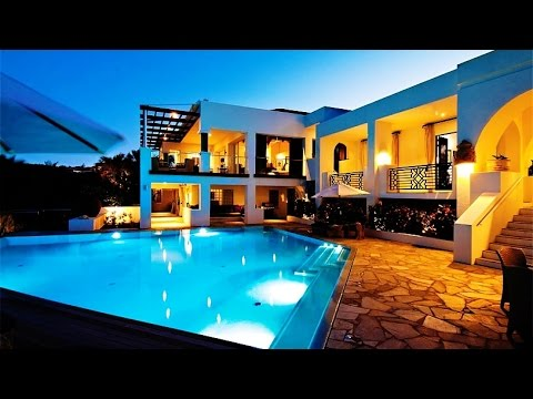 Contemporary Beachfront Moroccan Inspired Luxury Residence in Terres Basses, Baie Rouge, St. Martin