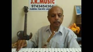 "Oora Kannu""RANGA SSLC""Kannada movie song on 'FLUTE' by VISWANATH LS"