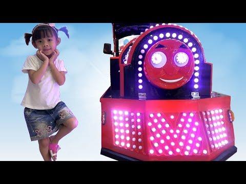 Đoàn Tàu Nhỏ Xíu – Bé Tập Lái Tàu Hỏa Thomas Train ❤ AnAn ToysReview TV ❤