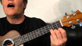 Ukulele Tutorial - How Great is Our God
