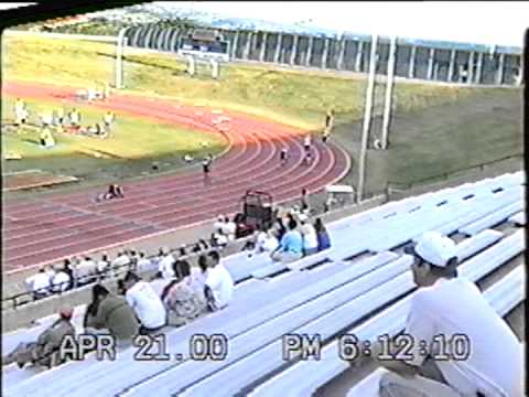 400m Hurdles Prelim at Lone Star Conference in San Angelo, Texas 2000