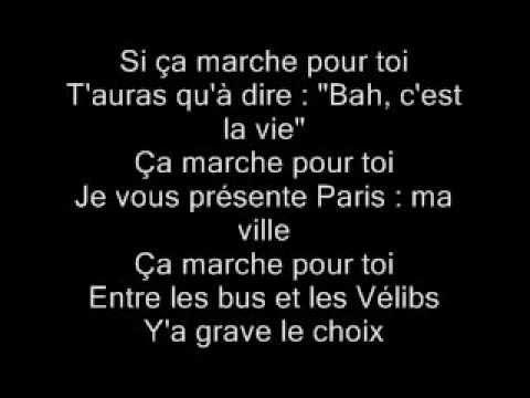Maitre Gims - Ca Marche (paroles)