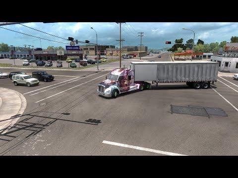 ATS New Mexico DLC Albuquerque - Artesia Gameplay